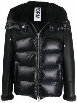 Drome стеганая куртка с контрастными вставками DRM5049D1729