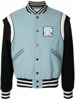 Ports V куртка-бомбер с вышитым логотипом VL9JSB13JWW053