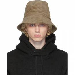 Engineered Garments Beige Corduroy Bucket Hat 20F1H003