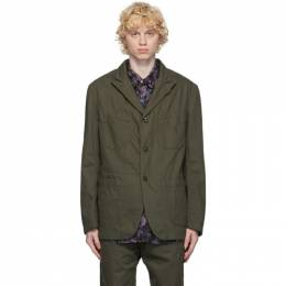 Engineered Garments Khaki Bedford Jacket 20F1D005