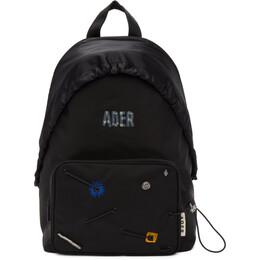 Ader Error Black Mask Backpack BTAFWBP01BK