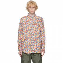 Engineered Garments Multicolor Flannel Floral Shirt 20F1A002