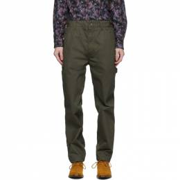 Engineered Garments Khaki Painter Trousers 20F1F005