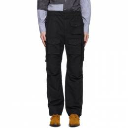 Engineered Garments Black FA Cargo Pants 20F1F016