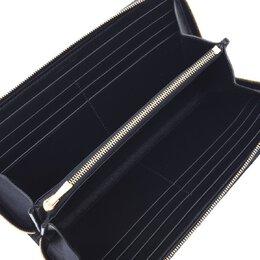 Celine Black Quilted Leather Wallet 331996