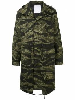 Ports V пальто с камуфляжным принтом VN9CRC18HPC009