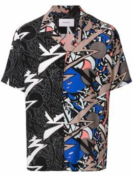 Ports V рубашка с абстрактным принтом VN9HCS11HPE004