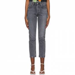 Citizens Of Humanity Grey Charlotte High-Rise Jeans 1731-1134