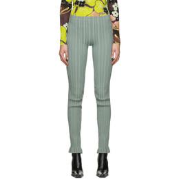Acne Studios Green Ribbed Trousers AK0296-