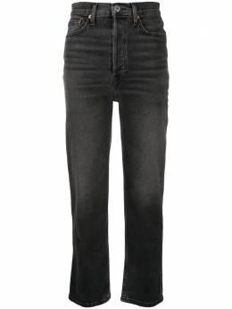 Re/Done прямые джинсы с завышенной талией 1653WUHRSTV
