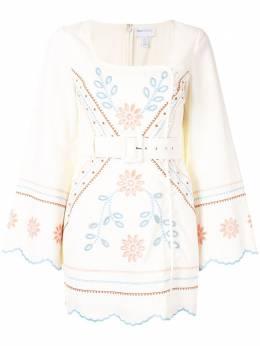 Alice Mccall платье Heavenly Creatures с поясом AMD33105PORCELAIN