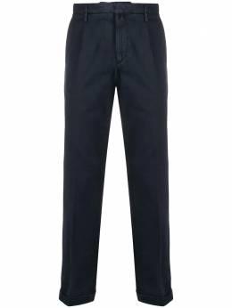 Briglia 1949 прямые брюки со складками BG07