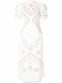 Alice Mccall платье миди Heavenly Creatures AMD3338PORCELAIN