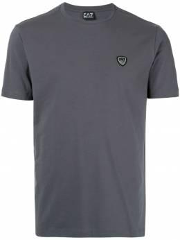Ea7 футболка с нашивкой в виде логотипа 8NPTL7PJ03Z