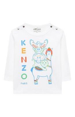 Хлопковый лонгслив Kenzo KR10503