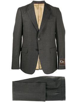 Gucci строгий костюм с однобортным пиджаком 630599ZAC6H