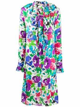 Plan C платье миди с цветочным принтом ABCAB66AKVTV016