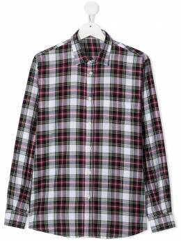 Il Gufo клетчатая рубашка с длинными рукавами A20CL176C3119T