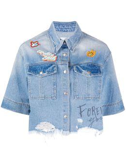 Sjyp укороченная джинсовая куртка PW2A3NSH019W