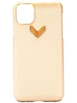 Manokhi чехол для iPhone с логотипом AW20MANO252HUSATELPIELEGRANIPHONE11PROMAXGREY01PGAI11PMGREYGOLD158105,