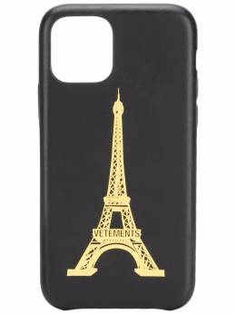Vetements чехол для iPhone 11 Pro Eiffel Tower UAH21AC282