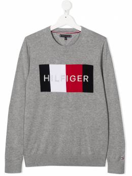 Tommy Hilfiger Junior джемпер с вышитым логотипом KB0KB05812
