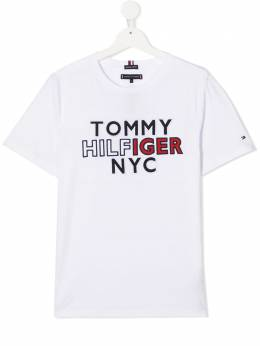 Tommy Hilfiger Junior футболка с логотипом KB0KB05848