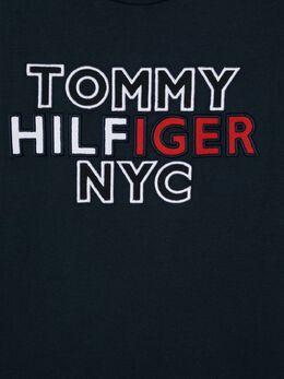 Tommy Hilfiger Junior футболка с круглым вырезом и вышитым логотипом KB0KB05859