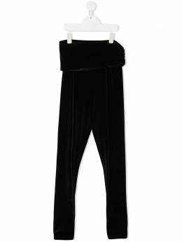 Douuod Kids брюки с оборками и завышенной талией TP013509