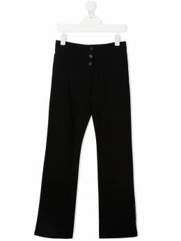 Givenchy Kids расклешенные брюки H1409909B