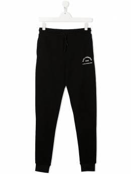Karl Lagerfeld Kids спортивные брюки с логотипом Z24100