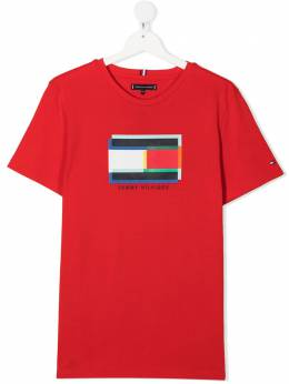 Tommy Hilfiger Junior футболка с короткими рукавами и логотипом KB0KB05853