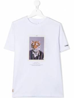 Burberry Kids футболка с принтом Character 8030646