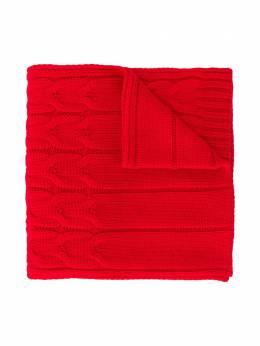 Moncler Kids шарф в рубчик F29543C7002004S02