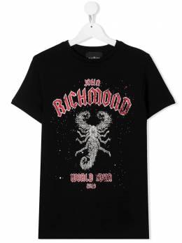 John Richmond Junior футболка с логотипом RBA20147TSJNT