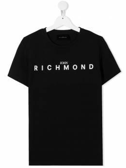 John Richmond Junior футболка с логотипом RBA20001TSFXT