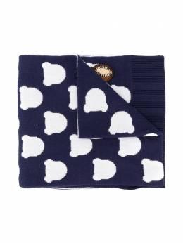 Moschino Kids шарф Cloud Teddy HUX015LHE03