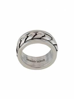 Emanuele Bicocchi фактурное кольцо ACT6