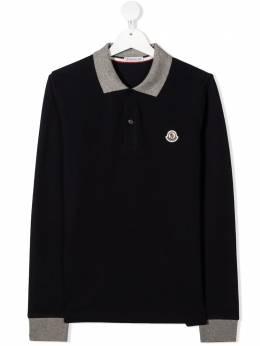 Moncler Kids рубашка поло с логотипом F29548B708208496W