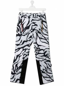 Molo брюки с принтом 5W20I1026134