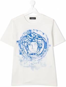 Young Versace футболка с принтом Medusa YD000325YA00079
