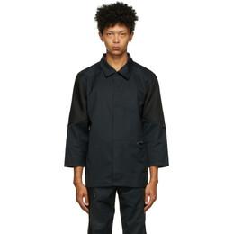 Affix Black Duo-Tone Work Shirt AW20T03