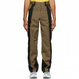 Affix Tan and Black Duo-Tone Work Trousers AW20TR03