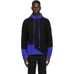 Ader Error Black Warning Sweater BTAFWLK08BK