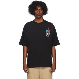 Ami Alexandre Mattiussi Black 9 T-Shirt H20HJ145.726