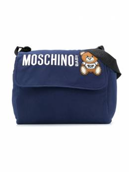 Moschino Kids пеленальная сумка Toy Bear MQX036LDA16