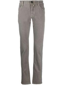 Jacob Cohen узкие джинсы с заниженной талией J622COMF02086V5401
