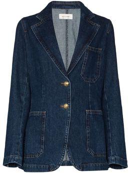 Wales Bonner джинсовая куртка Judah WA20DE06DEN401D500DENIM