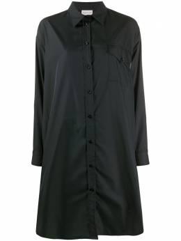 Moncler платье-рубашка со складками F20932G70400C0382
