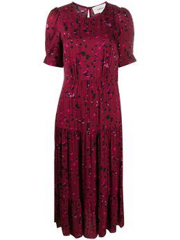Ba&sh платье миди Tonya с узором 1H20TONY